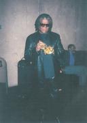EDDIE GALE checks out the trombetto - 2003