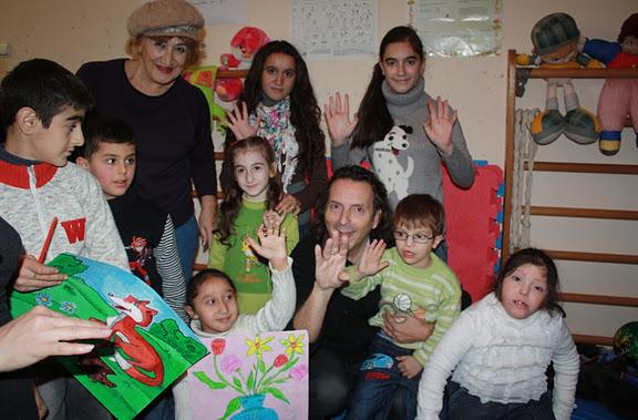 smile workshop in children hospital in Baku