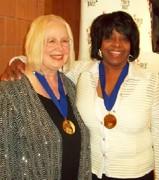 Michele Bensen and Etta Cox 2013 MCG Jazz First Women Honorees 2013