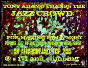 Tony Adamo Thanks The Jazz Crowd