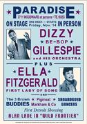 Dizzy Gillespie and Ella Fitzgerald, Detroit 1957