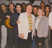 Balcony group  with Jerry Melega