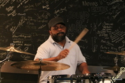 Chuck Anderson on drums
