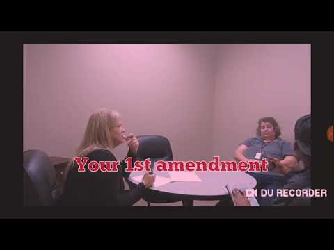 CPS vs well educated man who knows his Rights 1st Amendment