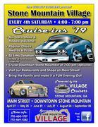 Stone Mountain Village Cruise-ins, GA