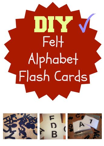 DIY Alphabet Flash Cards – Mom Bloggers Club