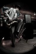 jay posing w sax