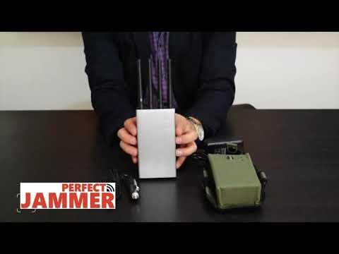 High Power 8 Bands Military High Power 3G 4G WiFi GPS Lojack Jammer