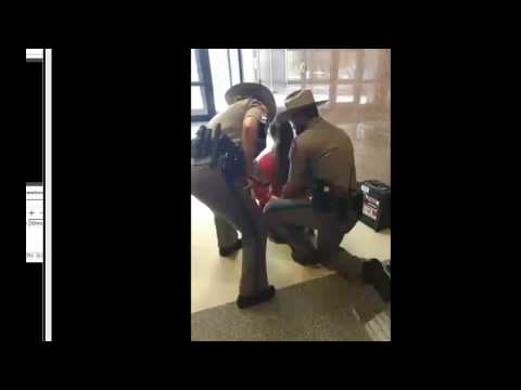 woman ARRESTED !!! for lawfully recording at Texas state capital meeting