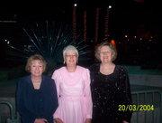 Sally Davis, on the right