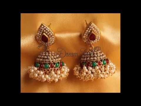 Traditional Jhumka Designs for 2019
