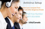Antivirus Setup Call @ 1-877-353-6650