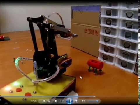 Braço Robótico com arduino. (Parte1/2)