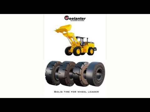 Solid Tire For Wheel Loader
