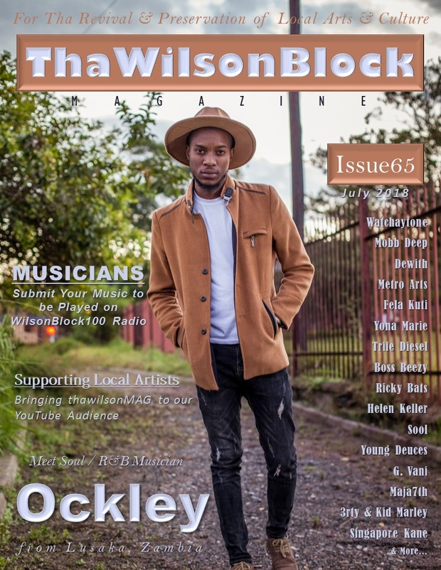 thawilsonblock magazine FRONT COVERS
