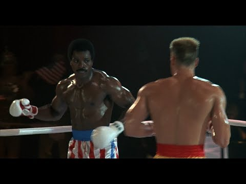 Rocky 4 - Apollo Creed vs Ivan Drago (1080p)