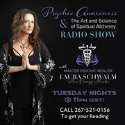 Blog talk radio with Master psychic Healer Laura Schwalm