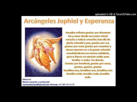 Oraciòn diaria del Consejo de Arcàngeles: Arcàngel Jophiel