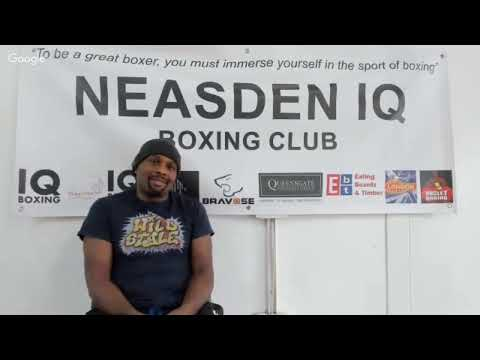 """IQ BOXING XAVIER MILLER """" I DON'T THINK PADWORK IS GOOD FOR COACHES!!"""""""