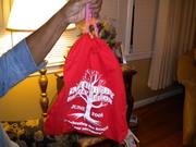 Drawstring T shirt bags