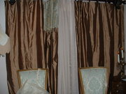 Silk Drapes