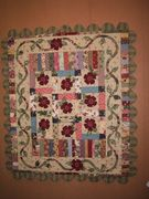 Vines and Roses wall hanging