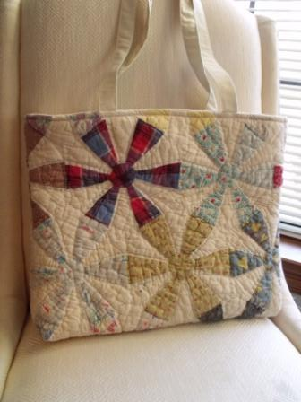 Recycled Quilt Tote