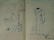 Mum's fashion sketch