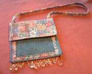 repurposed jeans purse