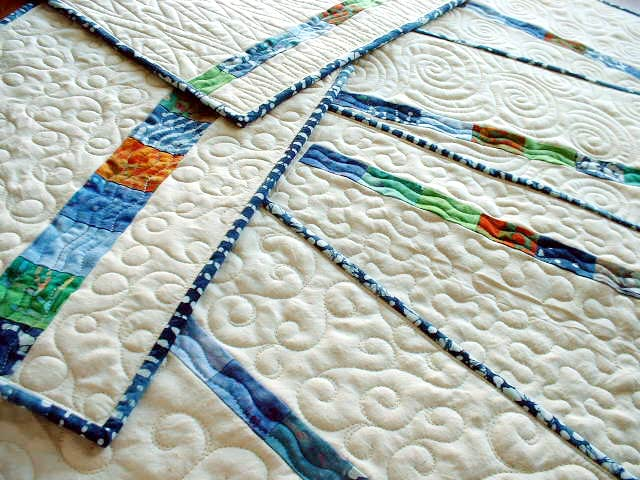 Place Mats - Free Motion Quilting