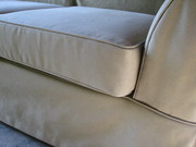 Couch Slipcover by NikkiDesigns