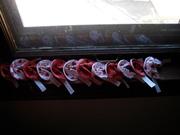 Valentine Fabric Fortune Cookies