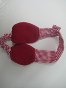 Cozy Upcycled Fabric Earmuffs