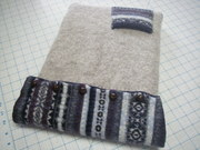 Recycled Sweater Laptop Case