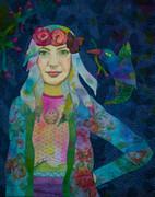 Girl With Kaleidoscope Eyes