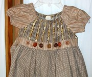Button Dress Bodice
