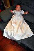 Christening Romper/ Skirt