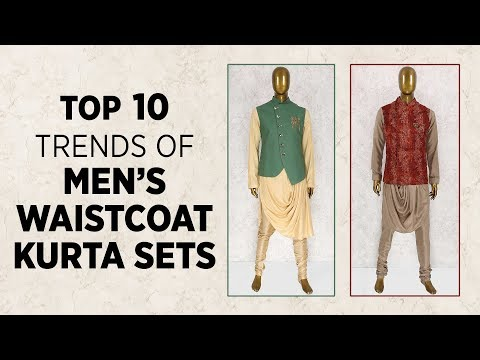 Top 10 Trends of Mens Waistcoat Set Designs 2019