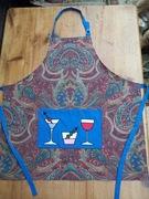 Cocktails on paisley Apron
