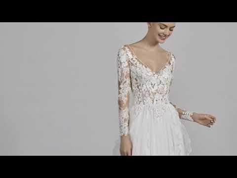 Pronovias Chicago wedding dress long sleeve price 2019