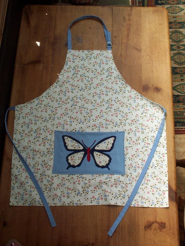 Big Butterfly Apron