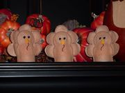 Thanksgiving Turkey Tealight Covers