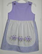 Sweet Little Girls Dress - Upcycling
