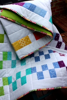 Rainbow Steps Quilt