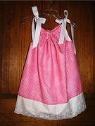 Pink Polka for me Pillowcase dress