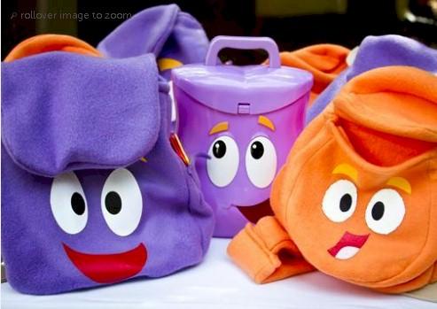Dora the Explorer Backpack - Free ePattern