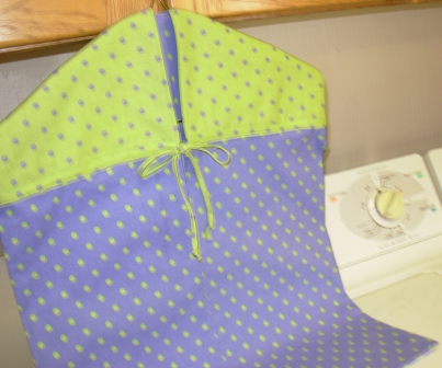 Hanging Laundry or Clothes Pin Bag