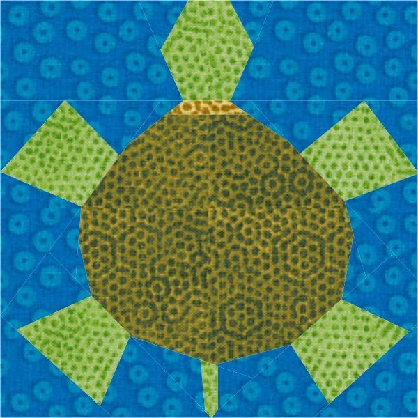 Free Little Turtle Quilt Block PDF Pattern - Paper Pieced