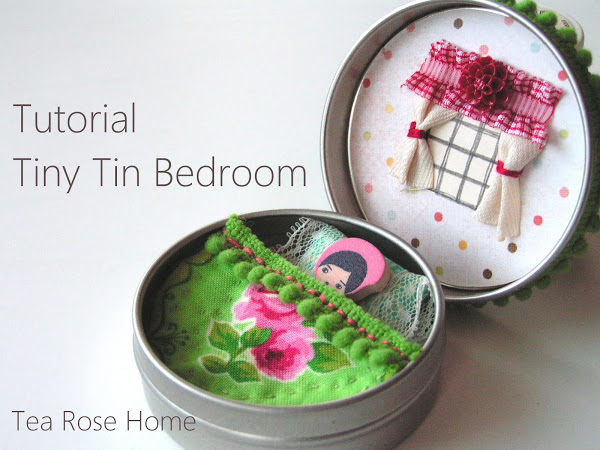 How to Make a Tiny Tin Bedroom