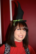 Fascinator Witch Hat & Vest